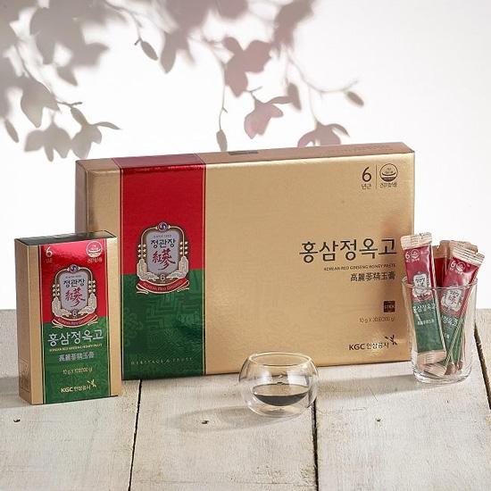 Tinh Chất Hồng Sâm Vị Mật Ong KGC Extract with Honey Paste 30 Gói