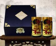 Cao Hồng Sâm Hàn Quốc 6 Năm Tuổi Hộp Gỗ Đen 2 Lọ - 250g giá 1.100.000