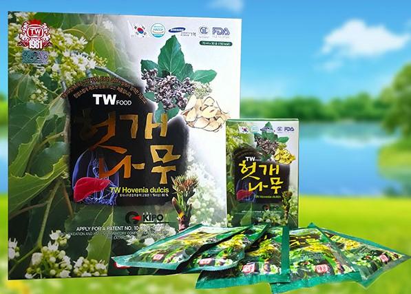 Nước mát gan Hàn Quốc Teawoong Hovenia Dulcis