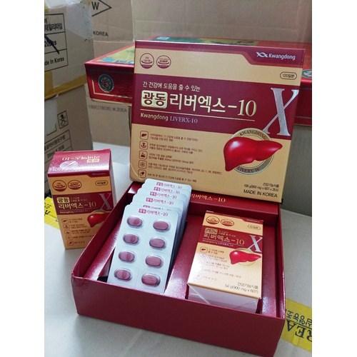 Viên Bổ Gan Kwangdong LiverX-10 Hàn Quốc Hộp 120 Viên