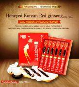 Hồng Sâm Củ Tẩm Mật Ong KGS Korean Hộp 300g