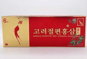 Hồng Sâm Thái Lát Tẩm Mật Ong KGS Hàn Quốc Hộp 100g