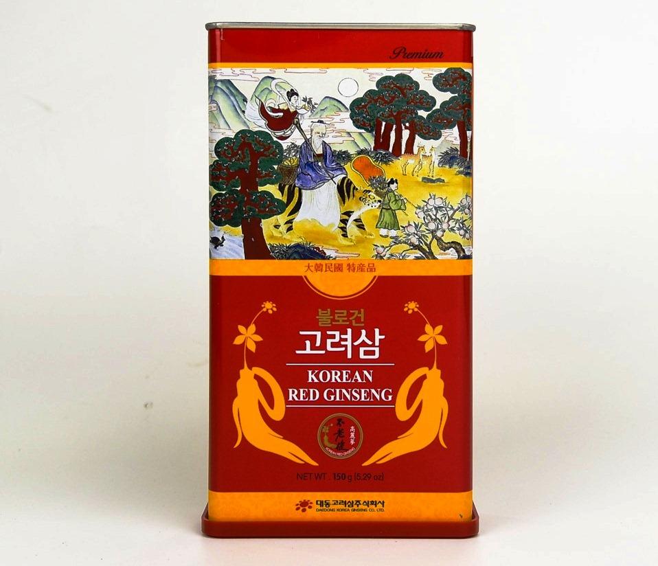 Hồng Sâm Củ Khô 150gram Daedong Premium