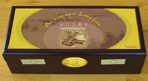 An Cung Ngưu Hoàng Hoàn Rùa Vàng Hàng Chính Hãng